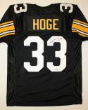 Merrill Hoge Signed / Autographed Black Jersey- JSA Authenticated