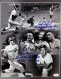 Paul Foytack & Jim Lonborg Autographed 11x14 Multi Shot Photo- JSA Authenticated