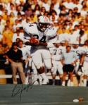 Bo Jackson Signed Auburn Tigers 16x20 Vertical Running *Black Photo- JSA Auth