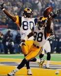 Isaac Bruce Signed/ Autographed 16x20 Cheering Photo- JSA Auth