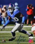 Jason Pierre Paul Autographed 8x10 Vertical On Field Photo- JSA Authenticated