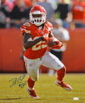 Jamaal Charles Autographed Kansas City 16x20 Vertical Running Photo- JSA Auth