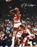Elvin Hayes Autographed Washington Bullets 16x20 Holding Ball Photo- JSA W Auth