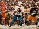 Ryan Tannehill Autographed 16x20 Miami Dolphins Running In Snow Photo- JSA Auth
