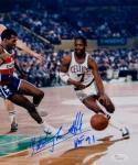 Nate Archibald HOF Autographed 8x10 Boston Celtics Dribbling Photo- JSA W Auth