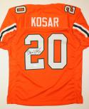 Bernie Kosar Autographed Orange College Style Jersey- JSA Authenticated