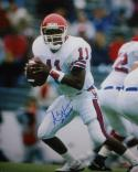 Andre Ware Autographed 16x20 Looking To Pass Photo- TriStar Authenticated