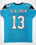 Kelvin Benjamin Autographed Light Blue Pro Style Jersey- JSA W Auth