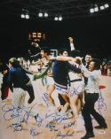 1972 Olympics Mens USA Basketball Team Autographed 16x20 Photo- PSA/DNA Auth