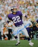 Paul Krause HOF Autographed Vikings 8x10 On Field Photo- JSA Authenticated