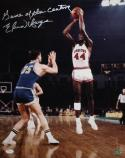 Elvin Hayes Autographed 16x20 Houston Cougars Shooting Photo- JSA Authenticated