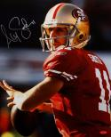 Alex Smith Autographed 16x20 49ers Up Close- Tri-Star Authenticated