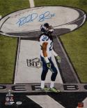 Richard Sherman Autographed 16x20 On Super Bowl Field Photo- PSA/DNA Auth