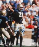 Bobby Taylor Autographed Notre Dame 8x10 Vertical Cheering Photo- JSA W Auth