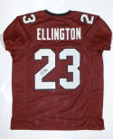 Bruce Ellington Signed / Autographed Maroon College Style Jersey- JSA W Auth