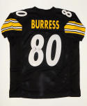Plaxico Burress Signed / Autographed Black Pro Style Jersey- JSA W Auth
