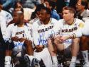 Mullin, Richmond & Hardaway Signed 16x20 Golden State Warriors Photo- JSA Auth