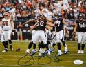 Brooks Reed Autographed Houston Texans 8x10 Celebrating Photo- JSA W Auth