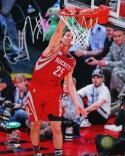 Chandler Parsons Autographed 8x10 Dunking Photo- TriStar Authenticated