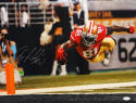 Anquan Boldin Autographed 49ers 16x20 Diving For End Zone Photo- JSA W Auth