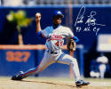 Pedro Martinez Autographed Montreal Expos 16x20 Pitching Photo W/ NL CY- JSA W Auth