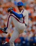 Doc Gooden WS Champ Autographed 16x20 Vertical Pitching Photo- JSA Authenticated