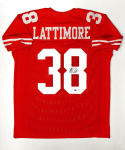 Marcus Lattimore Signed / Autographed Red Pro Style Jersey- JSA W Authenticated
