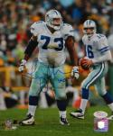 Larry Allen Signed Cowboys 8x10 Vertical On Field PF Photo W/ HOF- JSA W Auth
