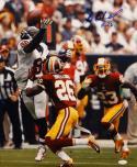 Bashaud Breeland Autographed 16x20 Redskins Against Texans Photo- JSA Witnessed