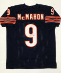 Jim McMahon SB Autographed Blue Pro Style Jersey- JSA W Authenticated