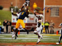 Kevin White Autographed 16x20 West Virginia Horizontal Catch Photo with JSA-W