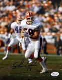 Shane Conlan Autographed 8x10 Buffalo Bills Running Photo- JSA W Authenticated
