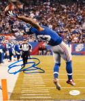 Odell Beckham Autographed 8x10 One Hand Catch Vertical Photo- JSA W Auth