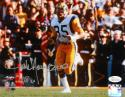 Jack Youngblood Autographed LA Rams 8x10 Running P.F. Photo W/ HOF- JSA W Auth