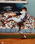 Jim Palmer Autographed 16x20 Orioles Pitching *White Photo- JSA Authenticated