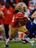 Dashon Goldson Autographed 8x10 Vertical Running Photo- JSA Authenticated