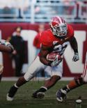 Mark Ingram Autographed 16x20 Vertical Running Photo- JSA Authenticated