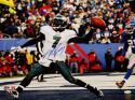 Michael Vick Autographed 16x20 About To Spike Ball Photo- JSA Authenticated