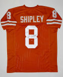 Jordan Shipley Autographed Orange College Style Jersey- JSA Auth