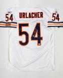 Brian Urlacher Autographed Chicago Bears White Reebok Jersey- JSA W Auth