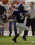 LaDainian Tomlinson Autographed 16x20 TCU Missing Tackle Photo- JSA Auth