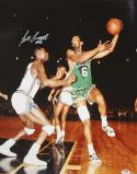 Bill Russell Autographed 16x20 Side Arm Lay Up Photo- PSA/DNA Authenticated