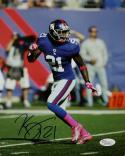Kenny Phillips Autographed 8x10 On Field Photo- JSA Authenticated