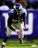 Jason Pierre Paul Autographed 8x10 Front View Running Photo- JSA Authenticated
