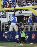Jason Pierre Paul Autographed 16x20 TD Celebration Photo- JSA Authenticated