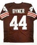 Earnest Byner Signed / Autographed Brown Pro Style Jersey- JSA W Auth