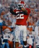 Mark Ingram Autographed 16x20 Vertical Showing Gloves Photo- JSA Authenticated