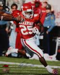 Felix Jones Signed Arkansas Razorbacks 16x20 Vertical Running Photo-JSA Auth