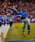 Odell Beckham Autographed NY Giants 20x24 The Catch Canvas- JSA Authenticated