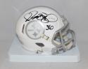 Jerome Bettis Autographed Pittsburgh Steelers ICE Speed Mini Helmet- JSA W Auth